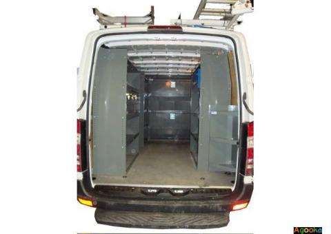 Shelving for van, Ladder Rack, Safety Partition